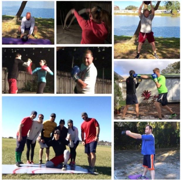 ETT training collage