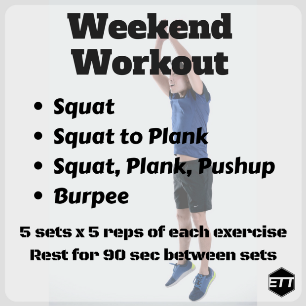 ETT Weekend Workout 1-6