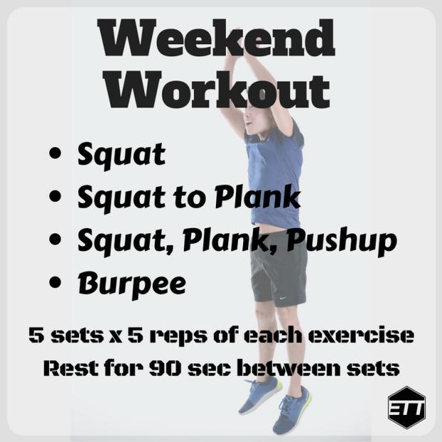 ETT Weekend Workout 1-6