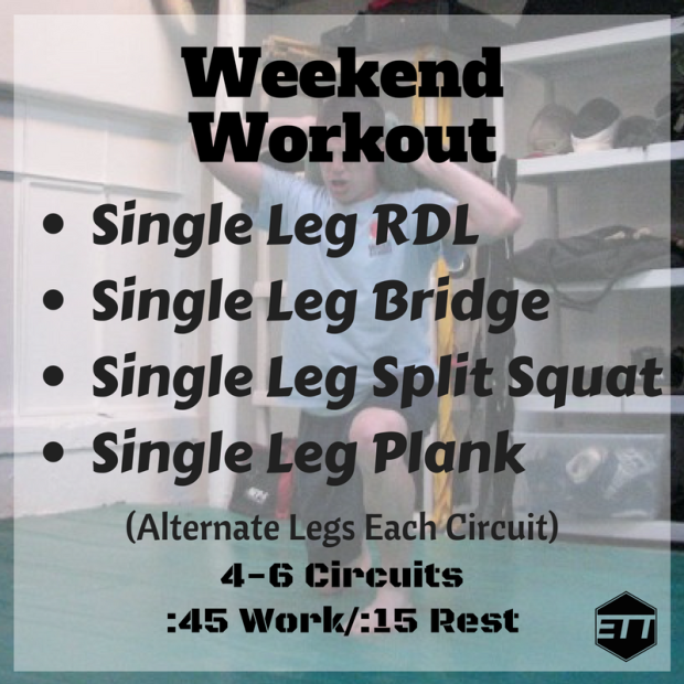 ETT Weekend Workout 3-24